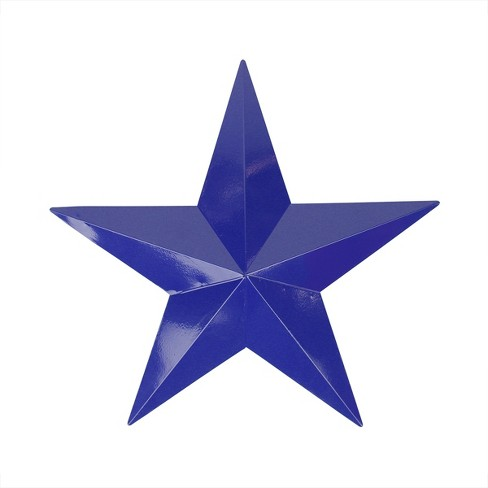 """Northlight 11.5"""" Navy Blue Rustic Star Indoor/Outdoor Wall Decoration - image 1 of 1"""