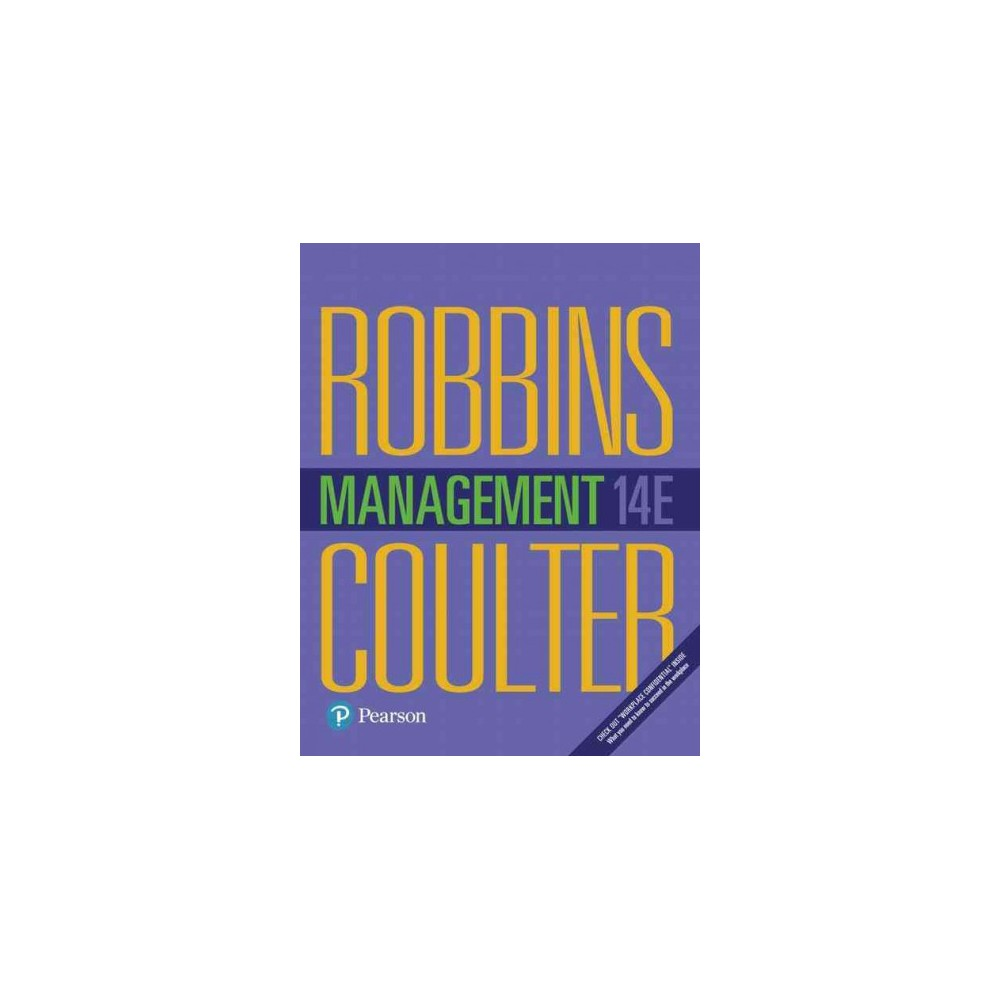 Management (Hardcover) (Stephen P. Robbins & Mary Coulter)