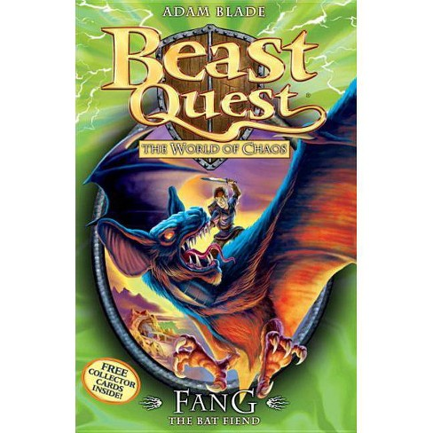 Beast Quest: 33: Fang the Bat Fiend - by  Adam Blade (Mixed media product) - image 1 of 1