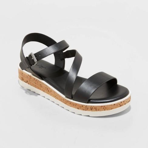 Women's Gia Platform Sandals - Universal Thread™ - image 1 of 3