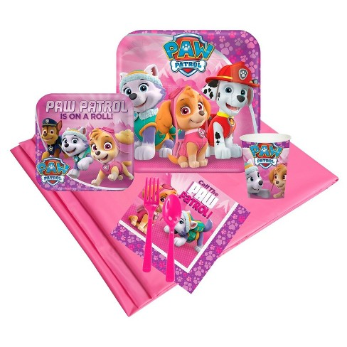 Pink Paw Patrol Guest Party Pack - image 1 of 1