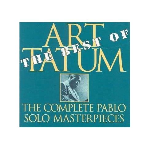 Art Tatum - Best of the Pablo Solo Masterpieces (CD) - image 1 of 1