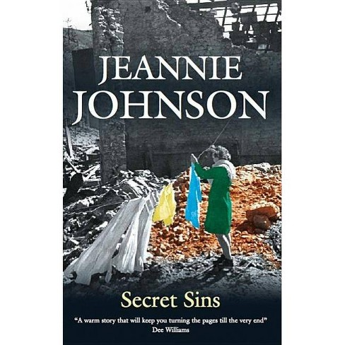 Secret Sins - (Severn House Large Print) by  Jeannie Johnson (Hardcover) - image 1 of 1