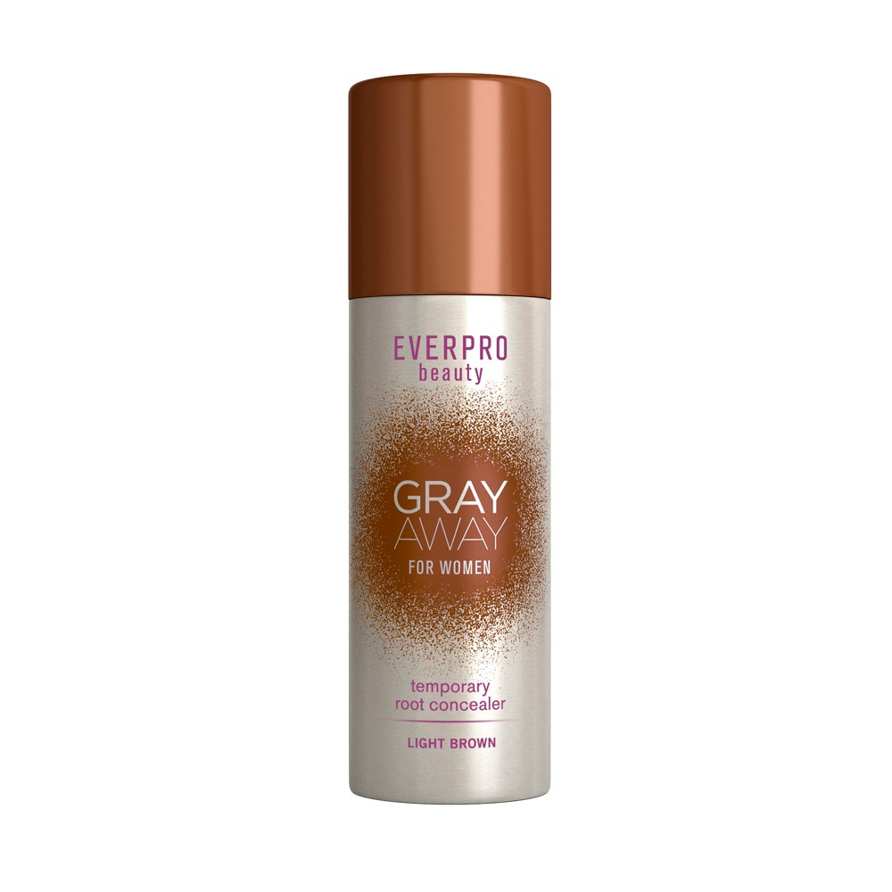 Image of EVERPRO beauty Gray Away Temporary Root Concealer - Light Brown - 1.5oz