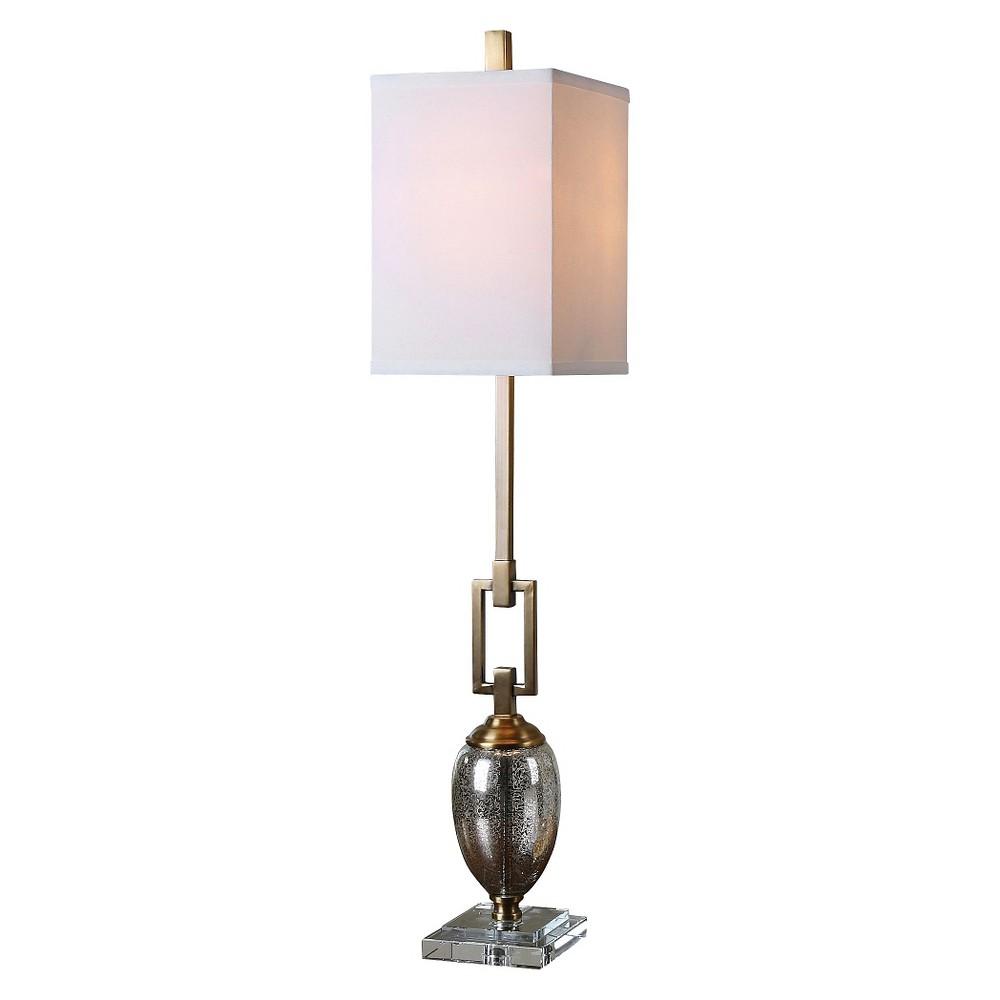 Uttermost Copeland Mercury Glass Buffet Lamp (Lamp Only)