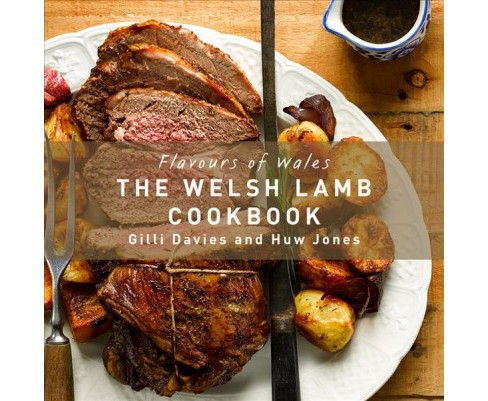 Welsh Lamb Cookbook -  (Flavours of Wales) by Gilli Davies (Hardcover) - image 1 of 1