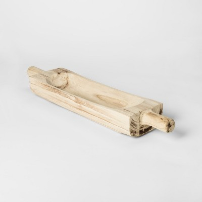Decorative Wooden Tray Small - Threshold™