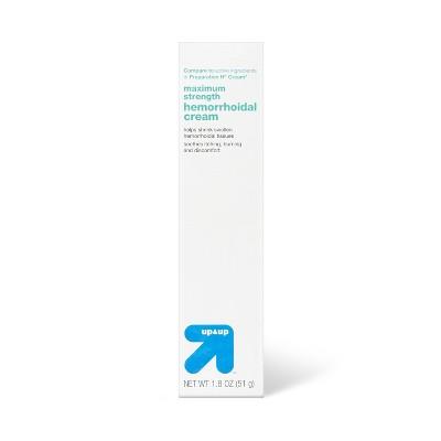 Hemorrhoid Treatment Cream - 1.8oz - up & up™