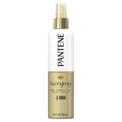 Hair Spray: Pantene Pro-V Extra Strong Hold Texture-Building Hairspray Non-Aerosol