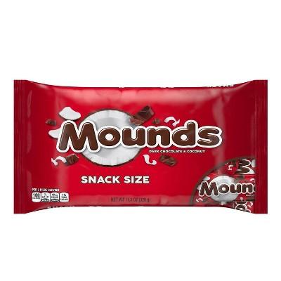 Mounds Dark Chocolate Snack Sized Bars - 11.3oz