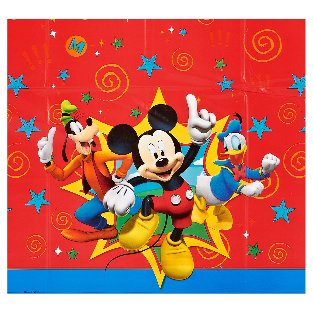 Mickey Mouse Table Cover, Multi-Colored