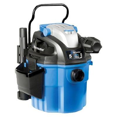 Vacmaster VWM510 Wall Mount 5gal Wet/Dry Vac With Remote Control