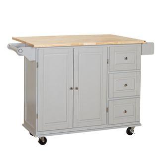 Sundance Kitchen Cart - Gray - Buylateral