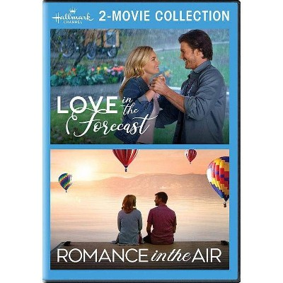 Hallmark 2-Movie Collection:love In The Forecast / Romance In The Air (DVD)(2021)