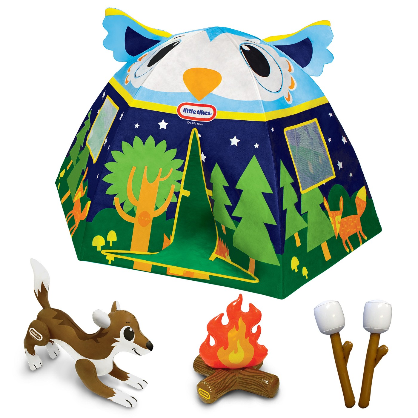 Little Tikes Forrest Friends Owl Tent - image 2 of 2