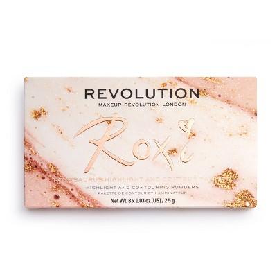 Makeup Revolution x Roxxsaurus Highlight & Contour Palette - 0.5oz