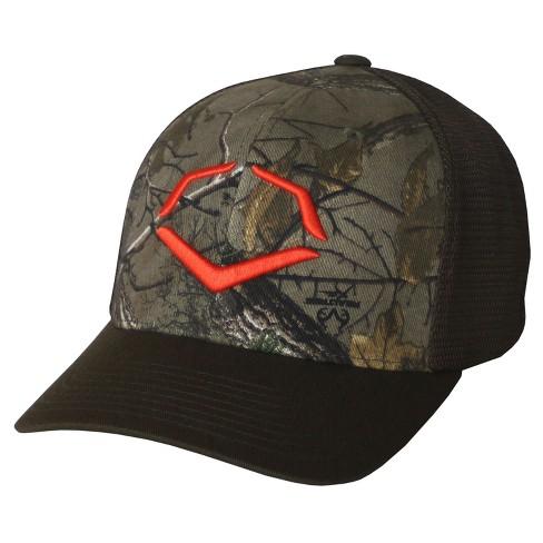 95be16af443 Evoshield Outdoor Flexfit Baseball Softball Trucker Hat   Target