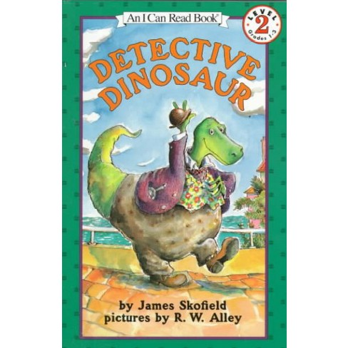 Detective Dinosaur - (I Can Read Level 2) by  James Skofield (Paperback) - image 1 of 1