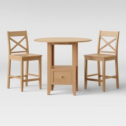 3pc Storage Dining Table Set - Threshold™