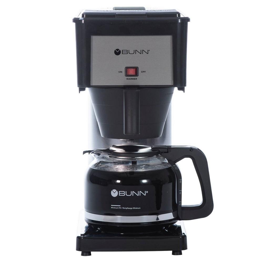 Bunn BX Velocity Brew 10 Cup Coffee Brewer, Black