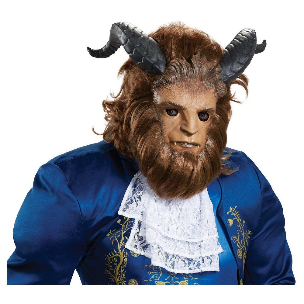 Image of Disney Beauty and the Beast - Beast Ultra Prestige Adult Mask, Men's