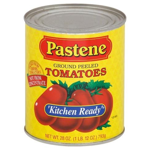 Pastene Kitchen Ready Ground Peeled Tomatoes 28oz - image 1 of 1