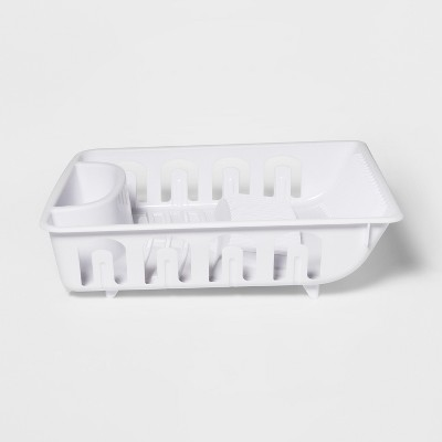 Plastic Dish Drainer White - Room Essentials™