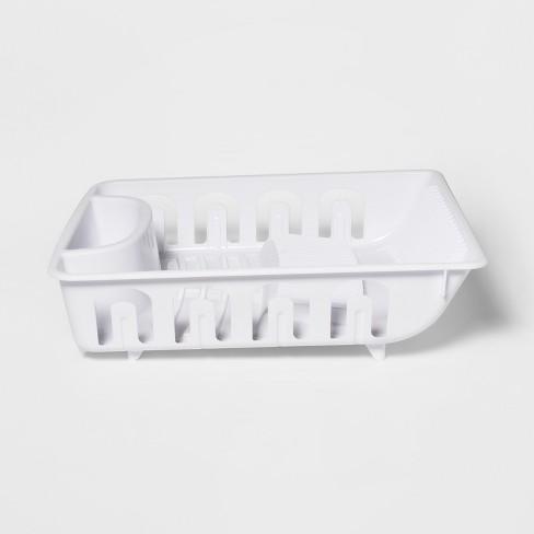 Plastic Dish Drainer White - Room Essentials™ - image 1 of 2