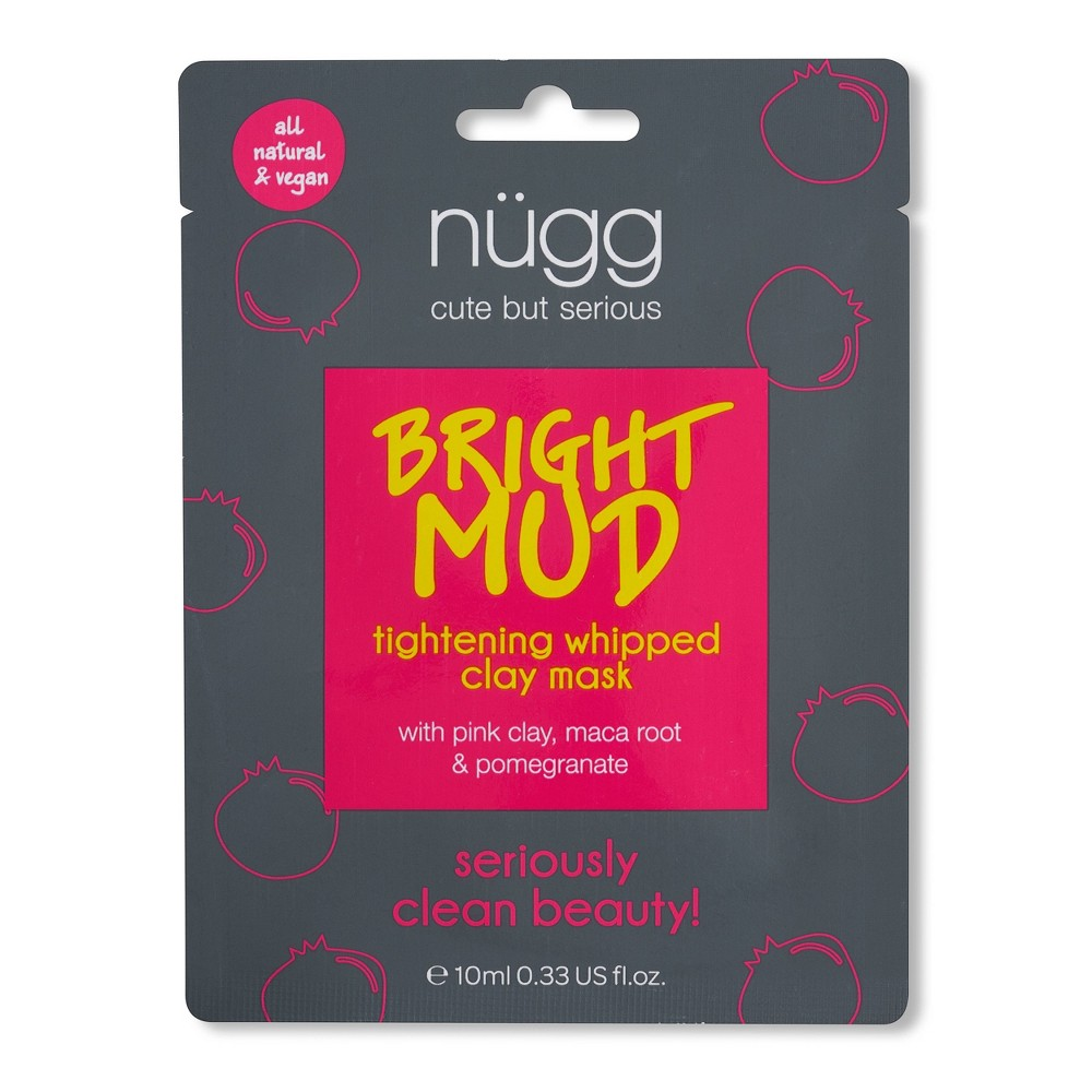 Image of Nugg Bright Mud Tightening Whipped Clay Mask - 0.33 fl oz