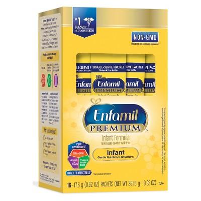 Enfamil Premium Infant Formula Powder Single-Serve - 16ct