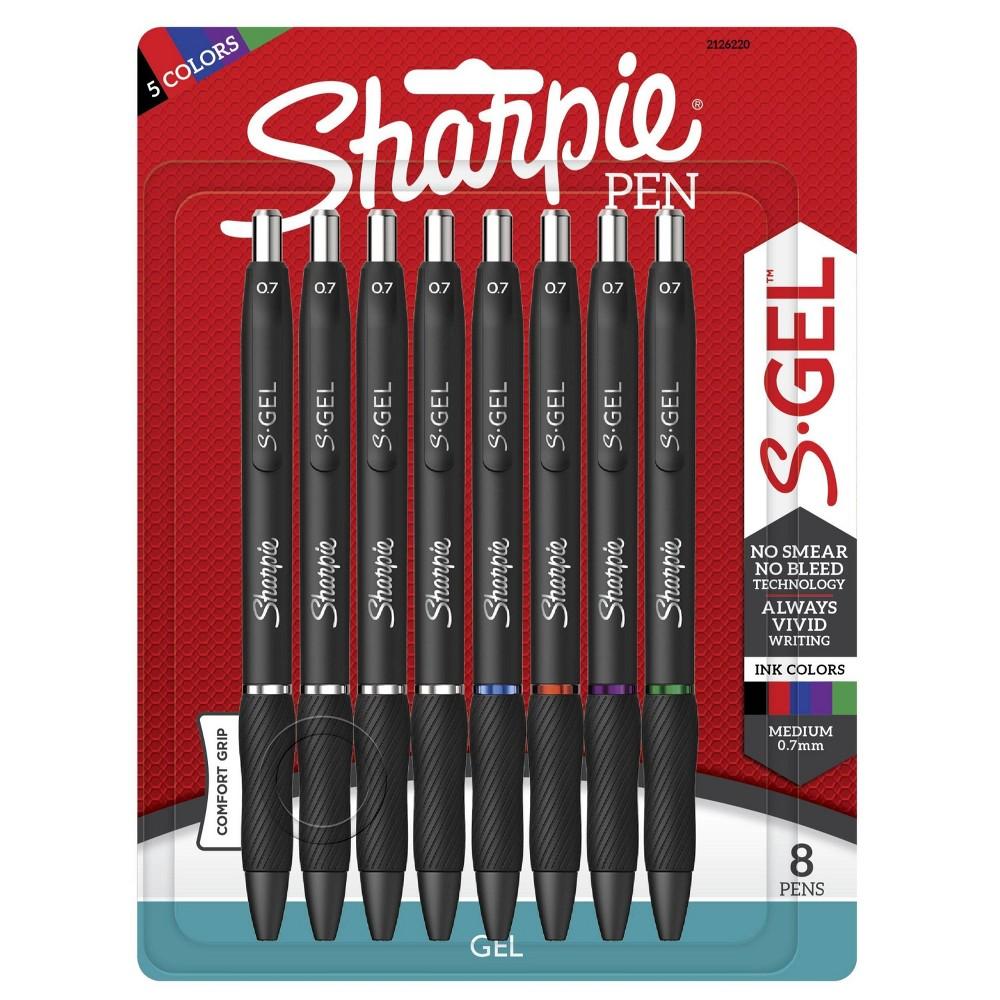 Sharpie 8pk Gel Pens S Gel 0 7mm Multicolor