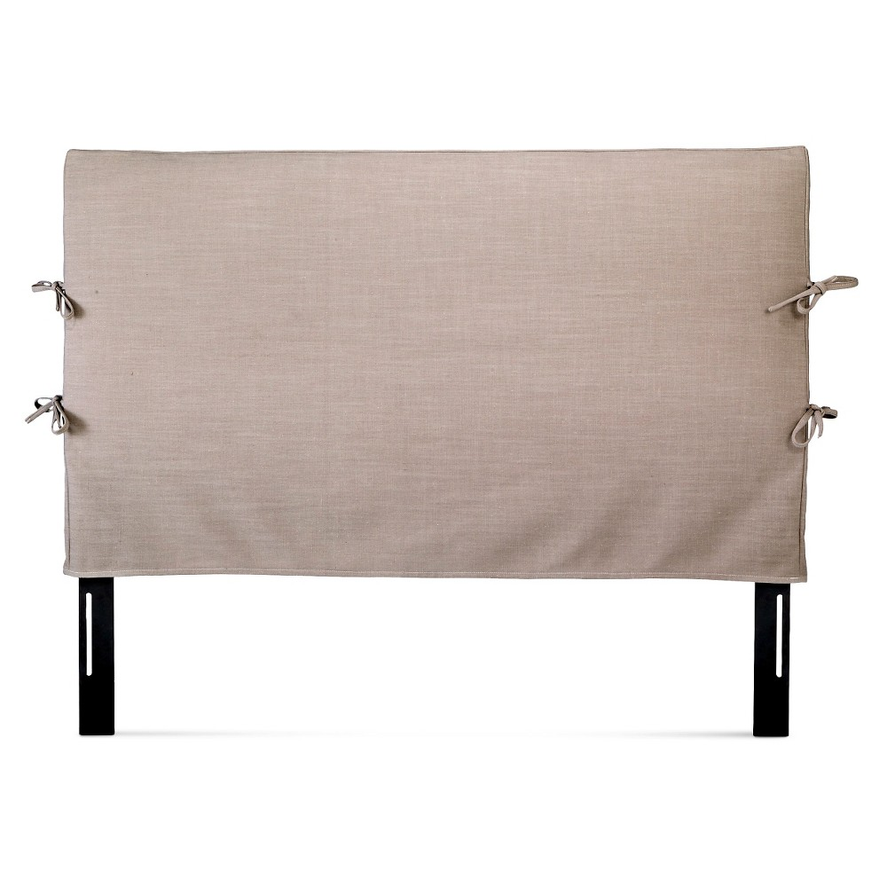 Wayside Queen Slipcover Headboard - Linen Gray - Beekman 1802 FarmHouse