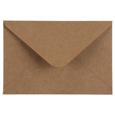 """Sustainable Greetings 200-Pack A4 Kraft Envelopes for 4""""x6"""" Cards Invitations Photos Announcements"""