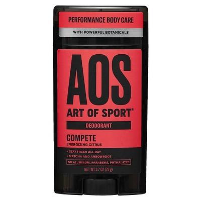 Art Of Sport Compete Men's Deodorant - 2.7oz