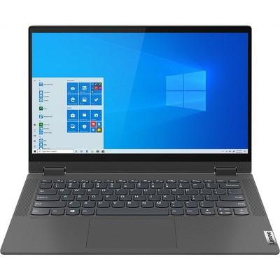 "Lenovo IdeaPad Flex 5 14"" 2-in-1 Touchscreen Laptop AMD Ryzen 7 8GB RAM 512GB SSD Graphite Gray - AMD Ryzen 7-4700U Octa-core - 250 Nit Brightness"