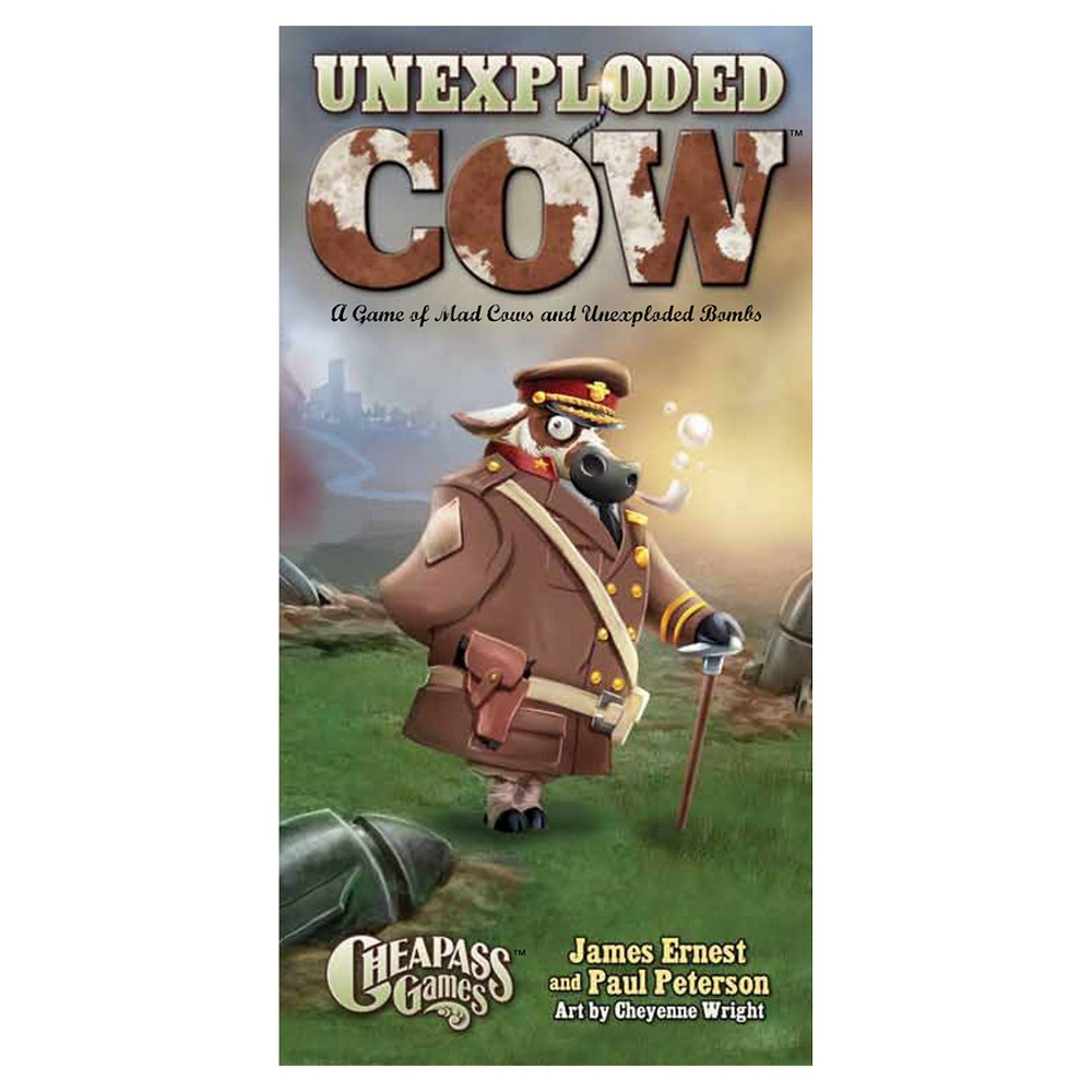 Cheapass Games Unexploded Cow