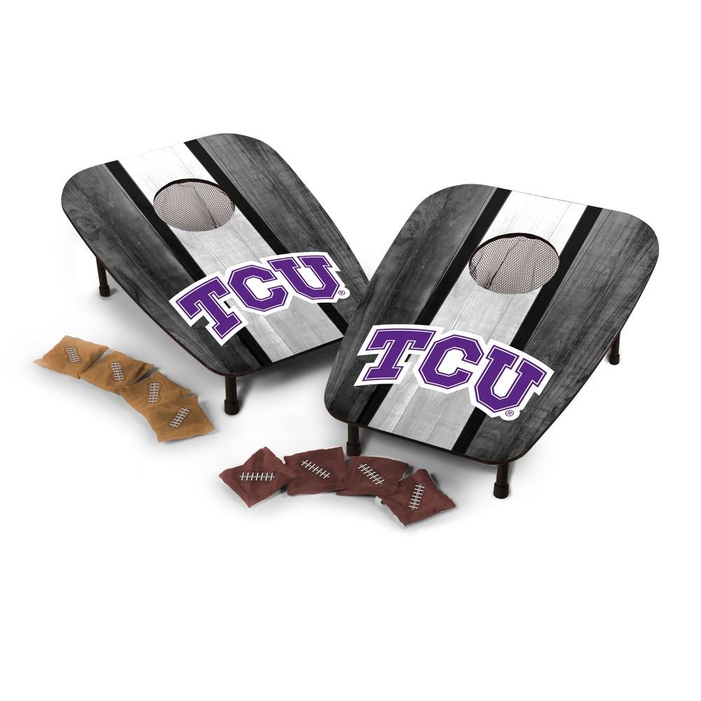 NCAA Wild Sports1 Hole Bean Bag Toss Tcu Horned Frogs