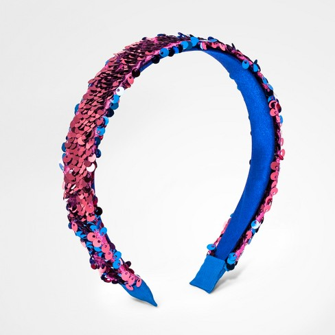 00c9c0a8c08 Girls  Flip Sequins Headband - Cat   Jack™ Pink   Target