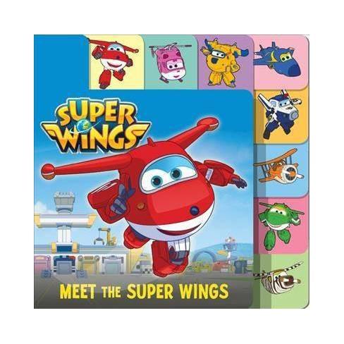 Meet the Super Wings -  BRDBK (Super Wings) by Steve Foxe (Hardcover) - image 1 of 1