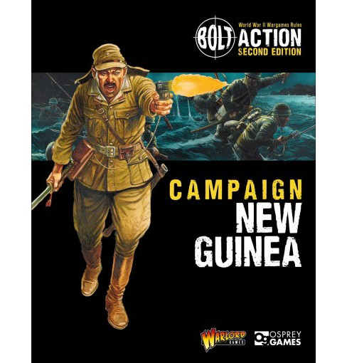 Campaign : New Guinea (Paperback) (Warlord Games) - image 1 of 1