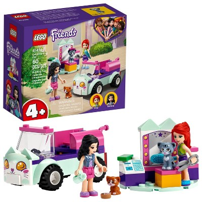LEGO Friends Cat Grooming Car Building Kit 41439