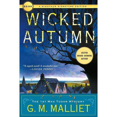 Wicked Autumn - (Max Tudor Novel)by  G M Malliet (Paperback) - image 1 of 1