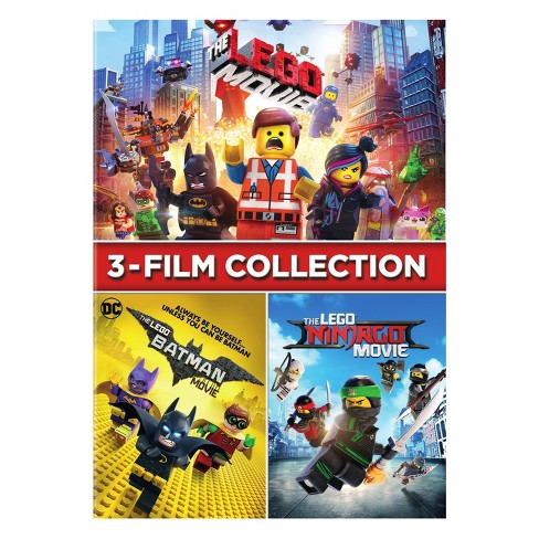 Lego 3 Film Collection (Ninjago/Batman/Lego) (DVD) - image 1 of 1