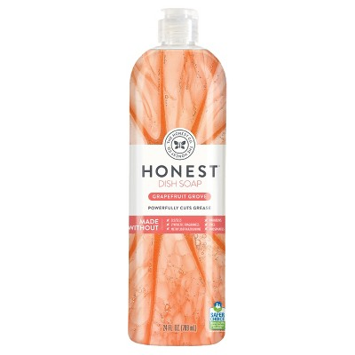 Honest Company Grapefruit Grove Dish Soap - 24oz