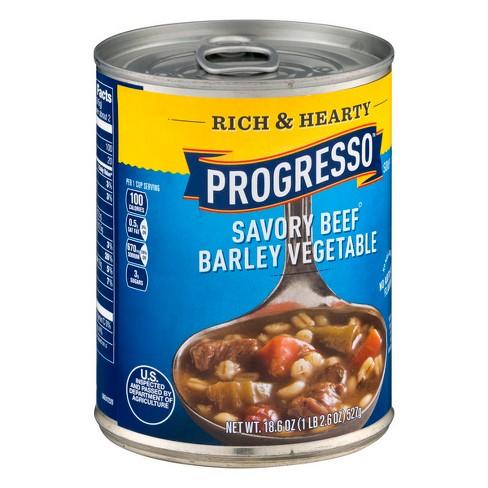 Vegetable Barley Soup Progresso