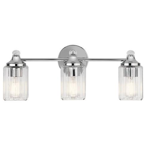 "Kichler 45907 Riviera 3 Light 22-1/2"" Wide Bathroom Vanity Light - image 1 of 1"
