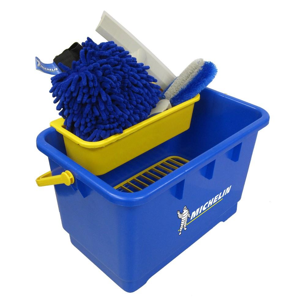 Michelin Automotive Cleaning Brush Set, Blue