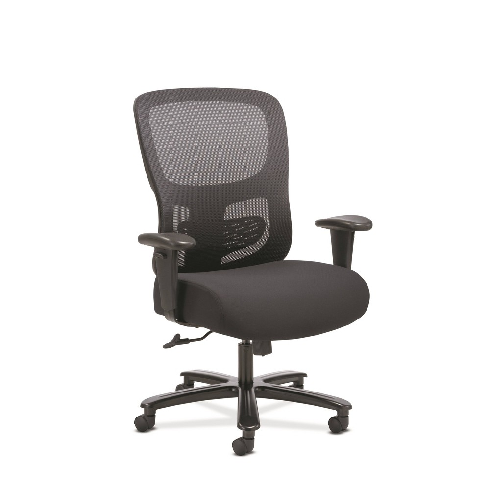 Sadie Big & Tall Adjustable Office/Computer Chair with Arms Black - Hon