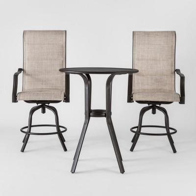 Marrion 3pc Sling Balcony-Height Bistro Set - Threshold™
