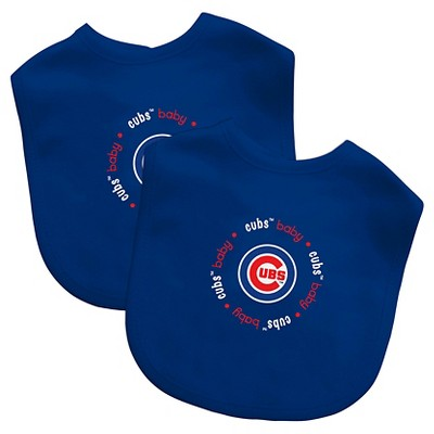 MLB Chicago Cubs Baby Fanatic Bib - 2pk